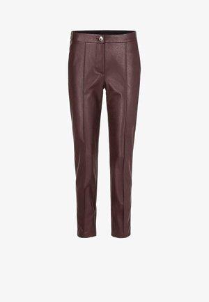 Trousers - aubergine