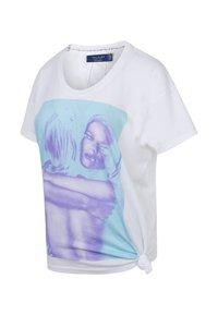 Religion - EMBRACING GIRL TEE - Print T-shirt - embracing blue - 2
