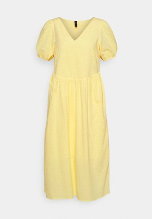 YASBANA MIDI DRESS - Day dress - pale banana