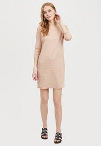 Vila - VITINNY - Day dress - coral - 1