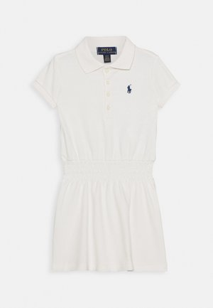 SMOCK DRESS - Day dress - deckwash white