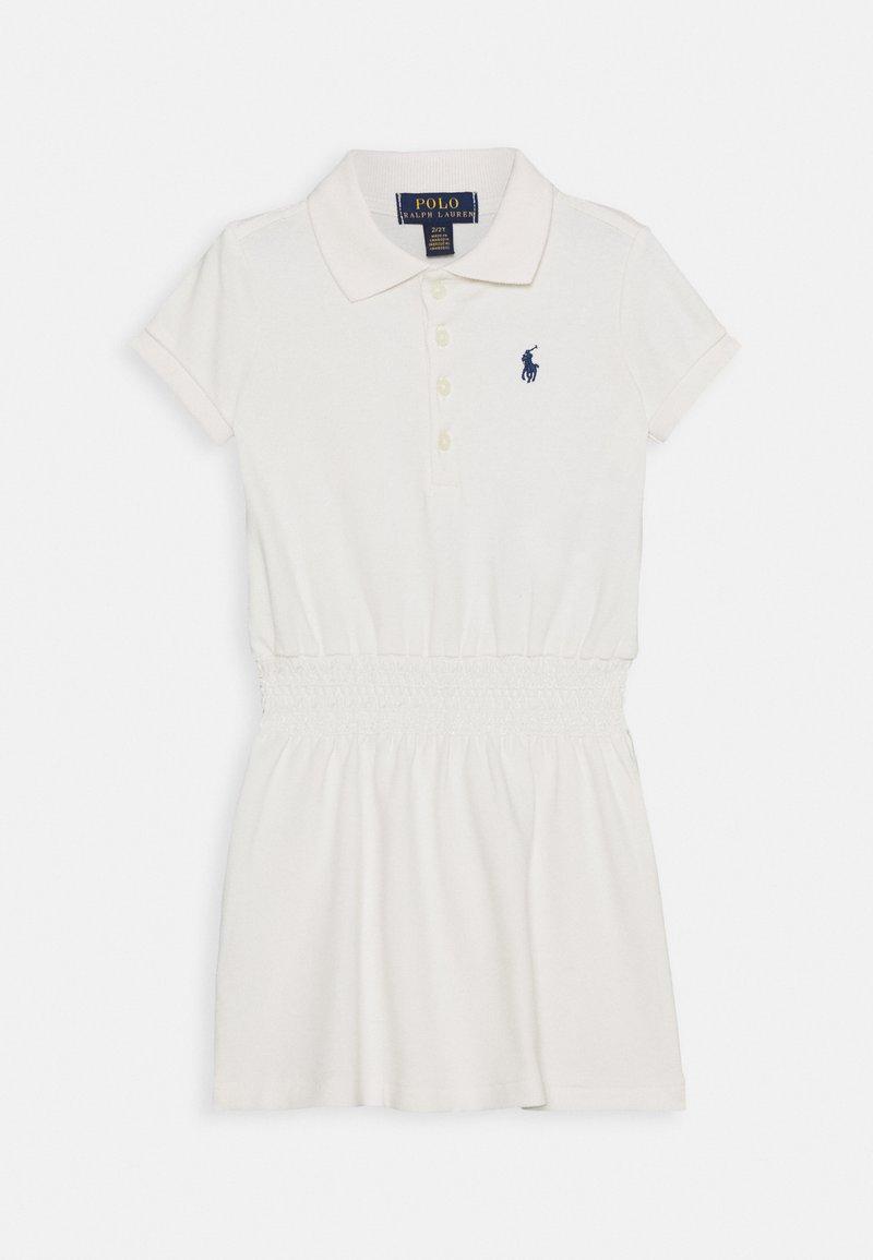 Polo Ralph Lauren - SMOCK DRESS - Day dress - deckwash white