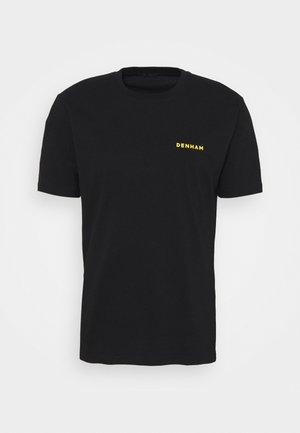BURTON REGULAR TEE - Printtipaita - black