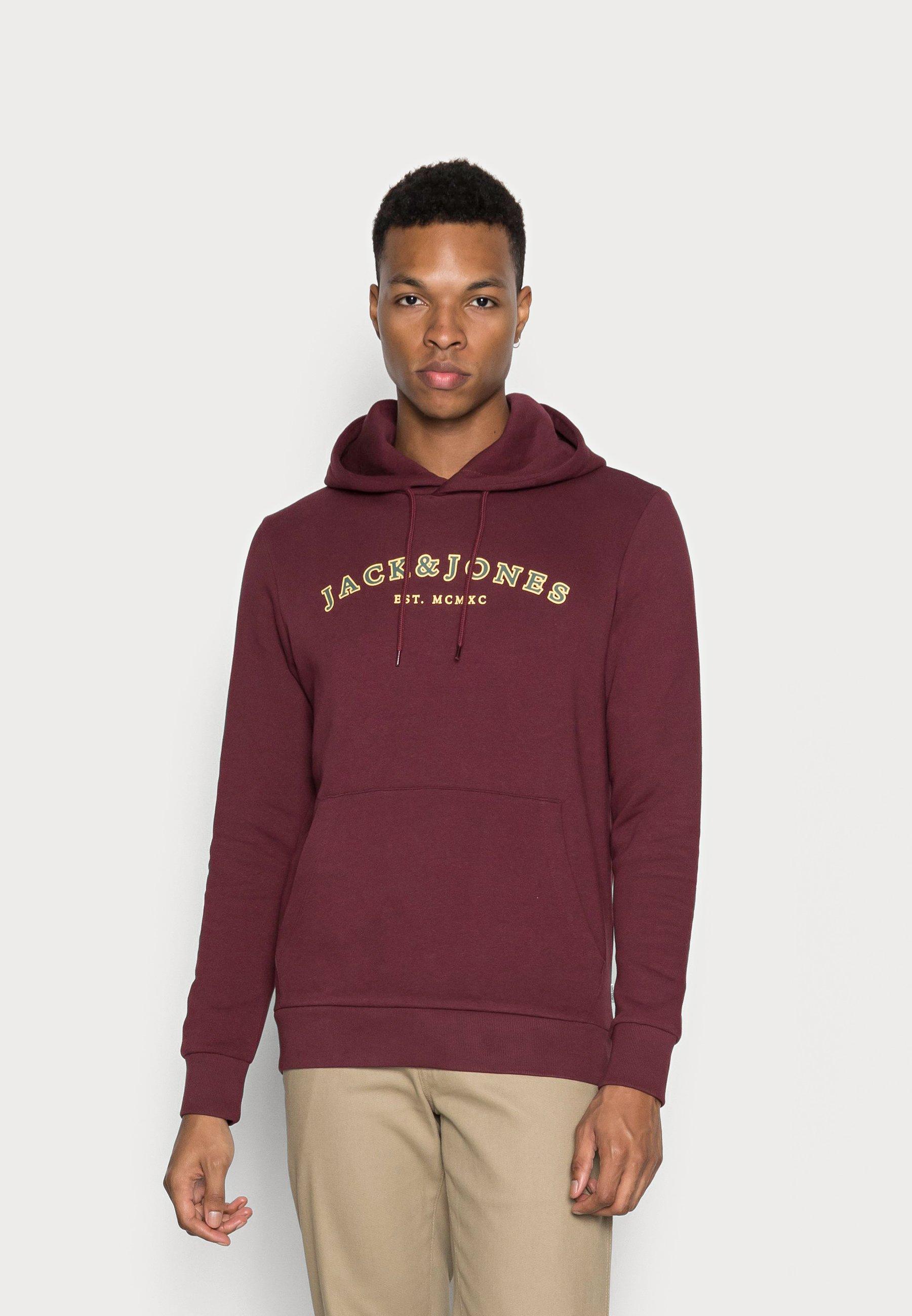 Herren JJCROSS HOOD - Sweatshirt