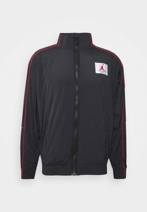 FLIGHT WARMUP - Training jacket - black/black/university red