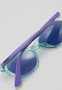 Puma - SUNGLASS KID ACETATE - Sluneční brýle - light blue/violet blue - 2