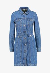 Vero Moda - Day dress - medium blue denim - 5