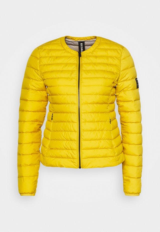USUAHIA JACKET WOMAN - Light jacket - mustard