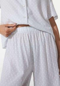 OYSHO - Pyjama bottoms - blue - 3