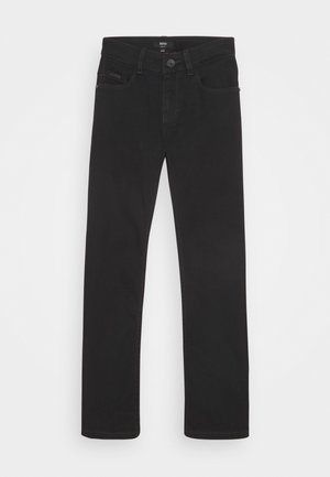 TROUSERS - Džíny Slim Fit - black