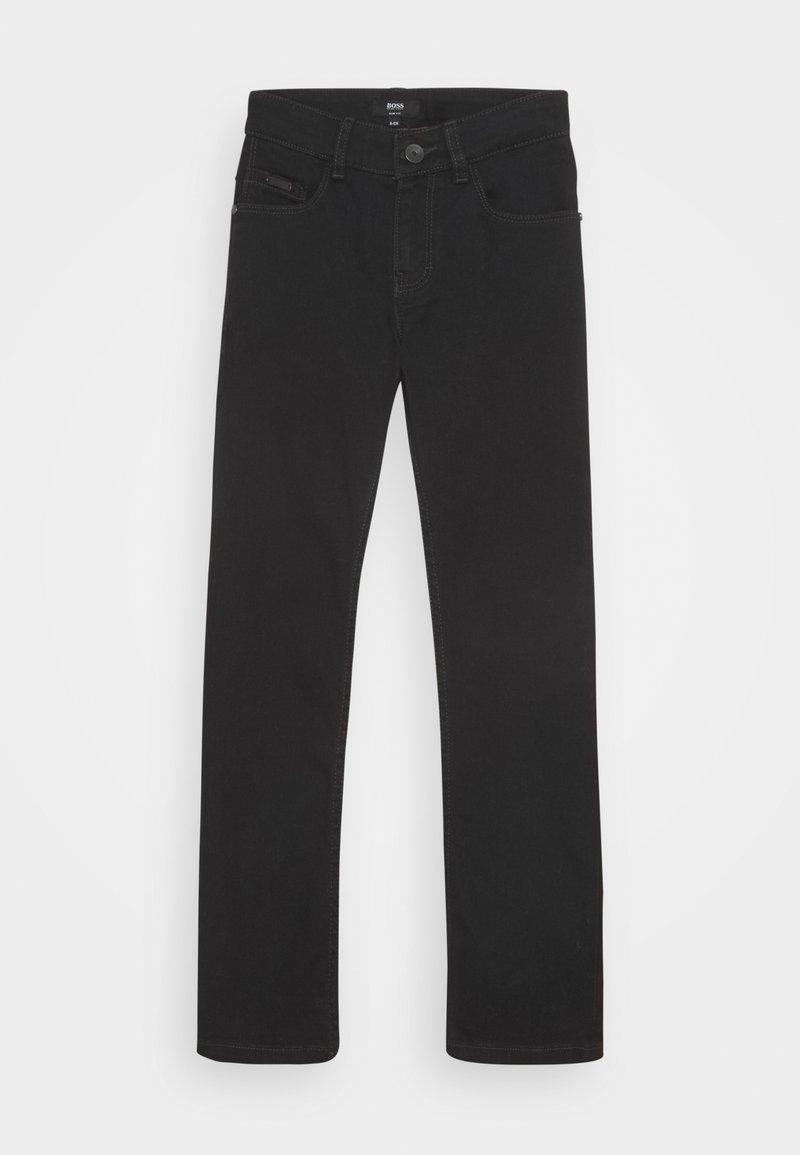 BOSS Kidswear - TROUSERS - Džíny Slim Fit - black