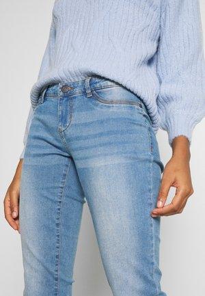 NMEVE - Vaqueros pitillo - light blue denim