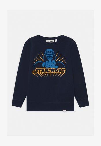 BOY VADER CREW - Sweatshirt - blue galaxy