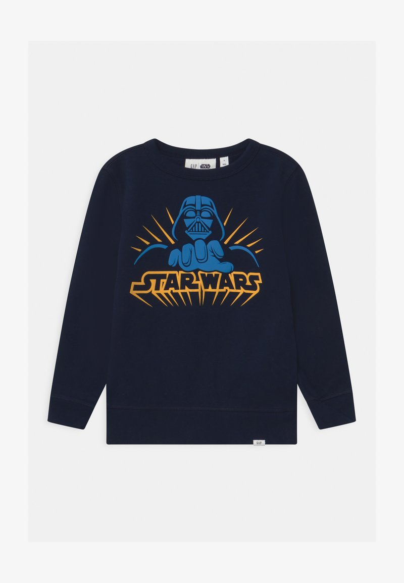 GAP - BOY VADER CREW - Sweatshirt - blue galaxy