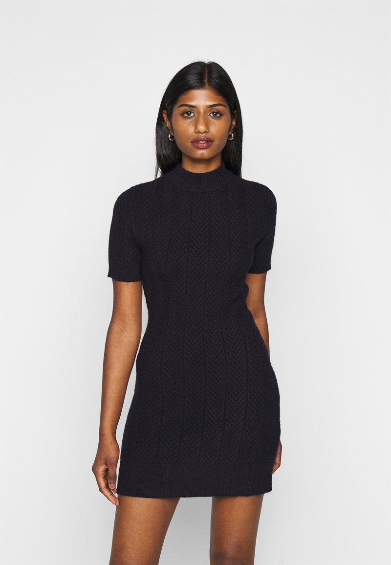 Fashion Union Petite - ETHAL - Jumper dress - navy