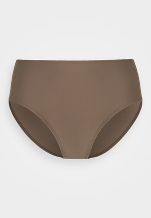 SHINY HIGH BRIEF - Spodní díl bikin - nougat brown