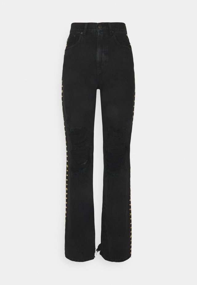 CHRIS PANT - Relaxed fit jeans - black