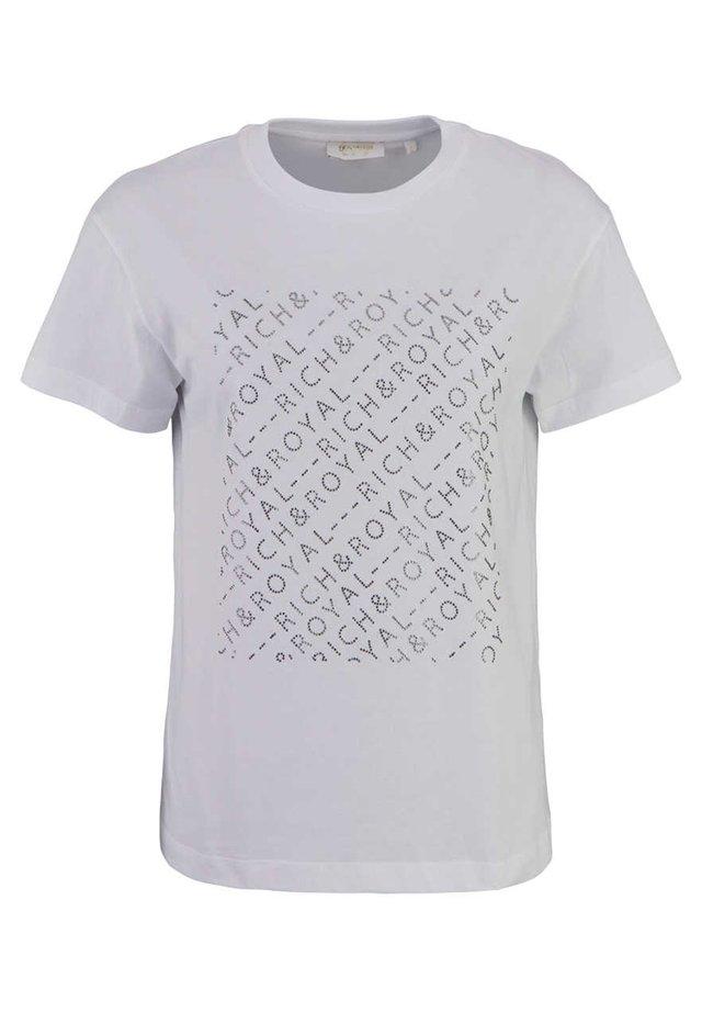 T-shirt med print - weifl