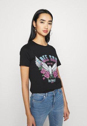 VIVULKAN - T-shirts print - black
