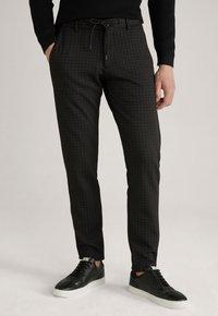 JOOP! Jeans - MAXTON3-W - Trousers - schwarz gemustert - 4
