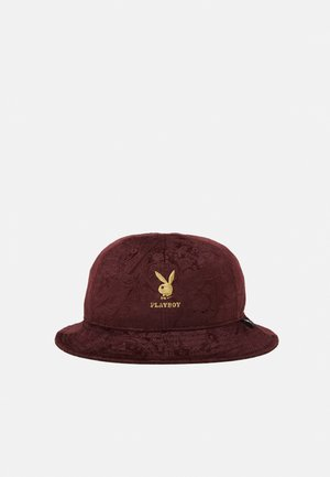 PLAYBOY PAISLEY SIX PANEL BUCKET UNISEX - Hatt - dark maroon