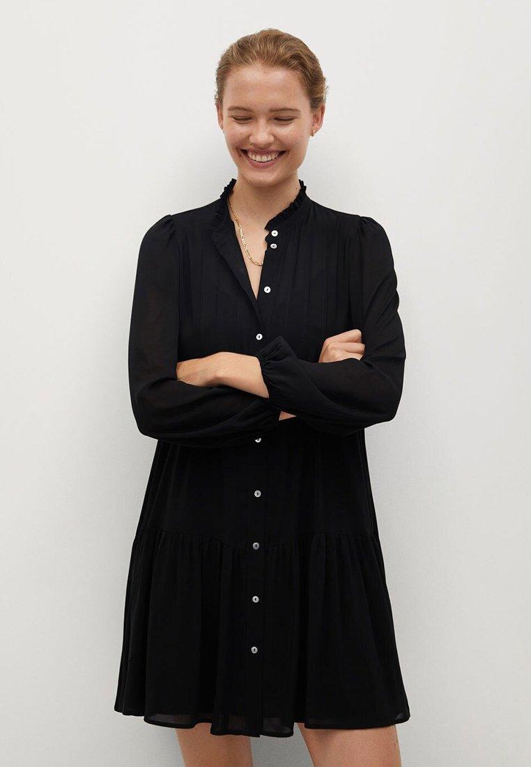 Mango - SOFIA - Shirt dress - noir
