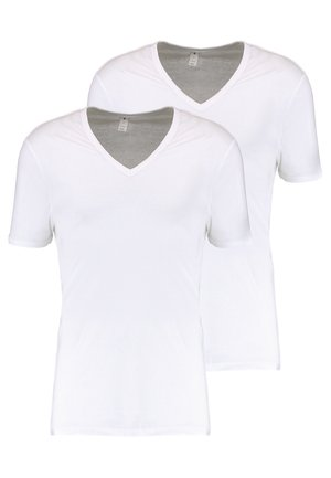 BASE 2 PACK - T-shirt basic - white