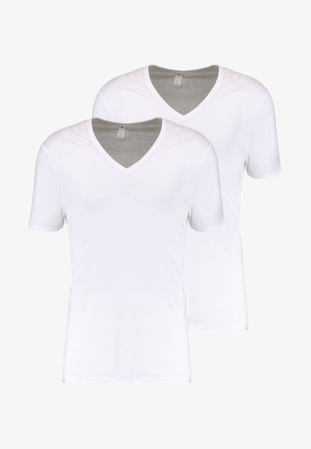 BASE 2 PACK - T-shirts basic - white