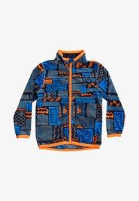 Quiksilver - AKER - Fleece jacket - navy jamo - 0