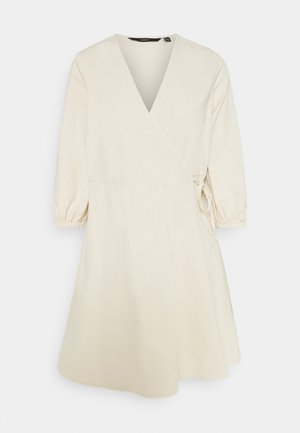 WRAP - Denim dress - birch