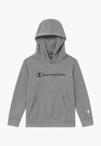 Champion - LEGACY AMERICAN CLASSICS HOODED UNISEX - Mikina skapucí - mottled grey - 0
