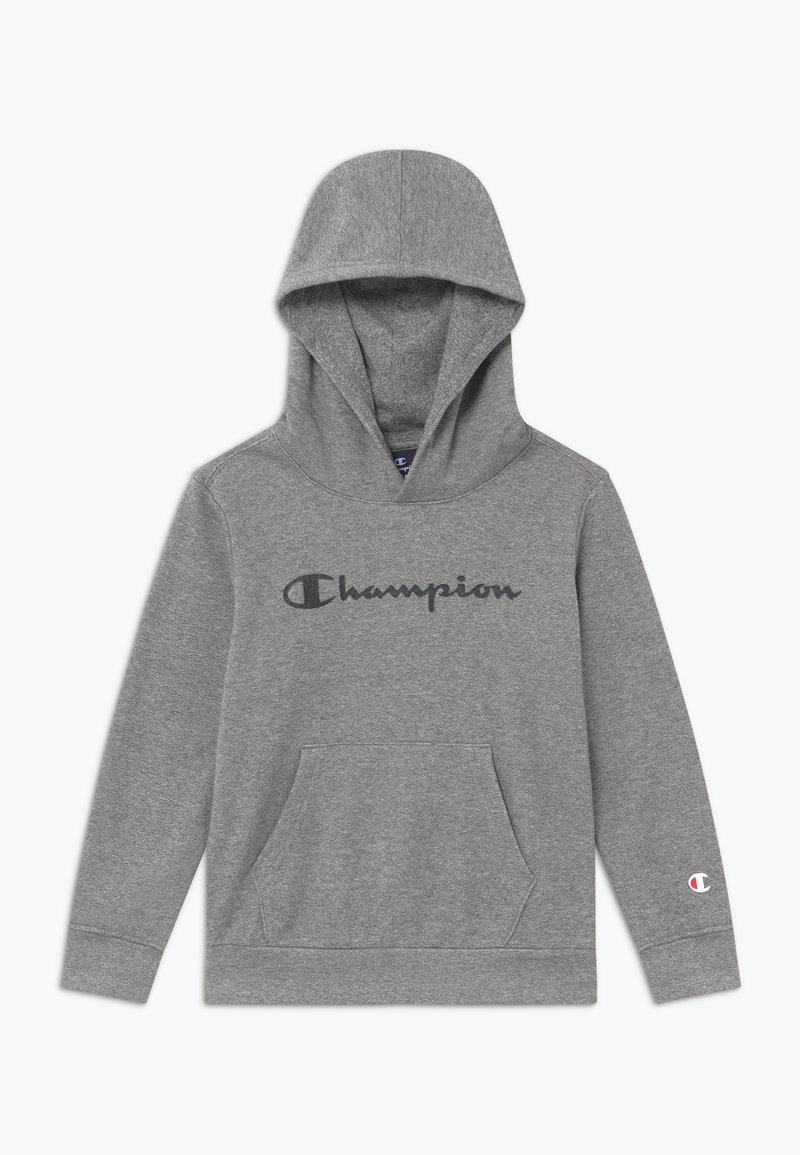 Champion - LEGACY AMERICAN CLASSICS HOODED UNISEX - Mikina skapucí - mottled grey