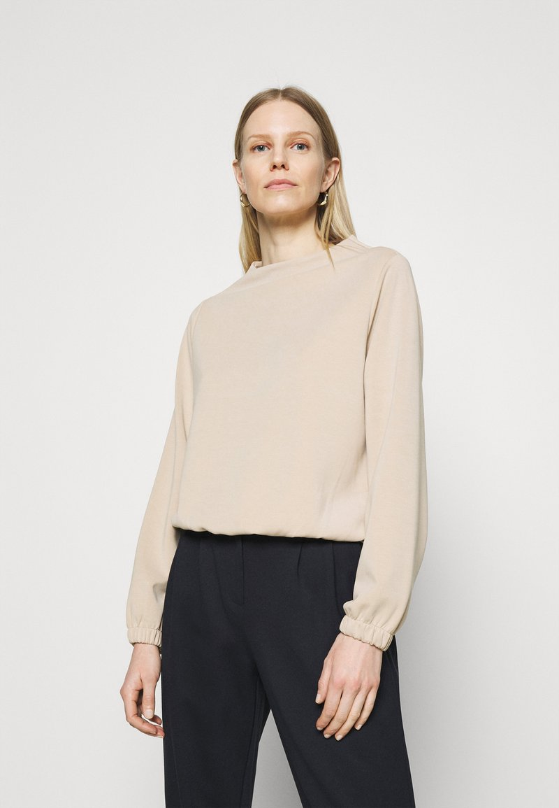 Opus - GABBI - Long sleeved top - macadamia