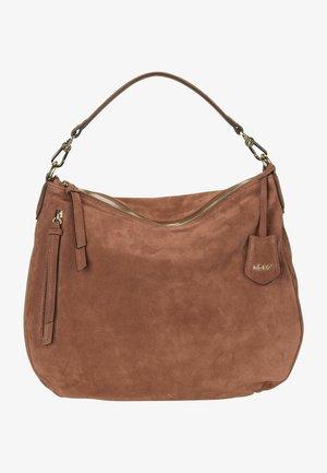 JUNA  - Handbag - cognac