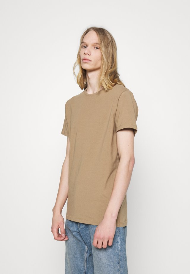 JERMALINK - T-shirt basic - khaki