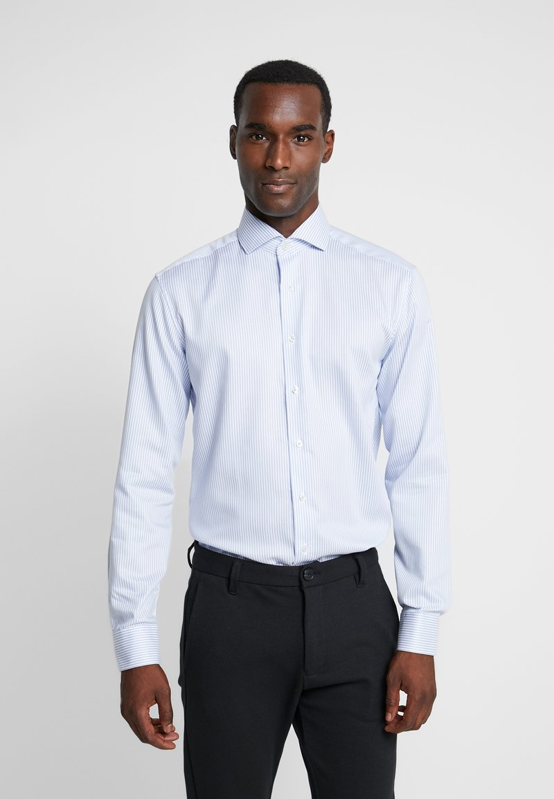 Eterna - SLIM FIT  - Formal shirt - bleu