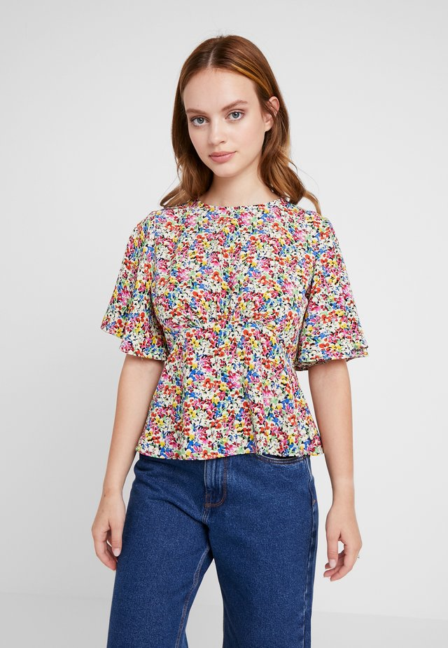 FLORAL SLEEVE - Blouse - multi