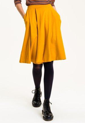 GERDA - A-line skirt - currygelb