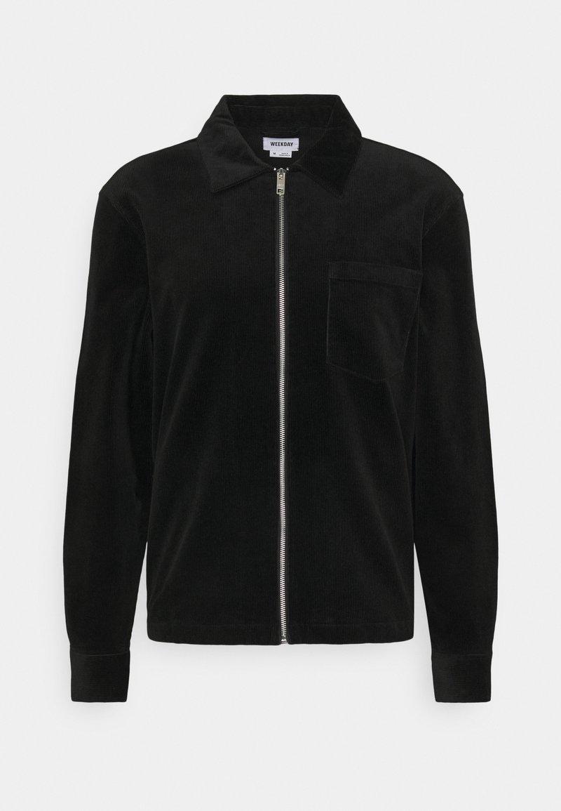 Weekday - AHMED UNISEX - Lehká bunda - black