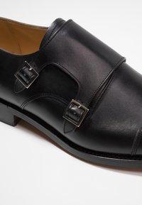Barker - TUNSTALL - Smart slip-ons - black - 6
