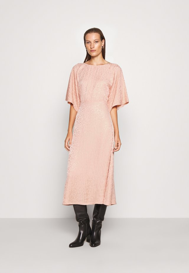 DRESS - Sukienka letnia - orange dusty light