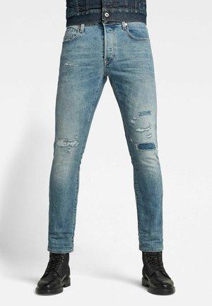 3301 SLIM RL - Jeans slim fit - vintage ocean blue restored