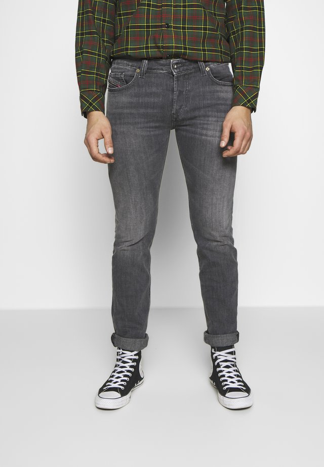 SAFADO - Jean droit - grey denim