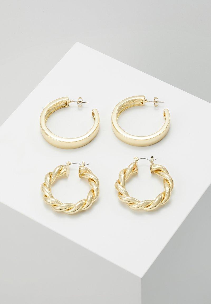 Pieces - PCOLKA HOOP EARRINGS 2 PACK - Oorbellen - gold-coloured