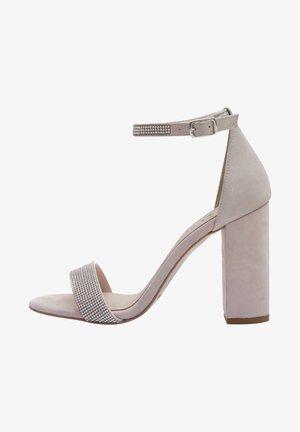 AVA - High heeled sandals - nude