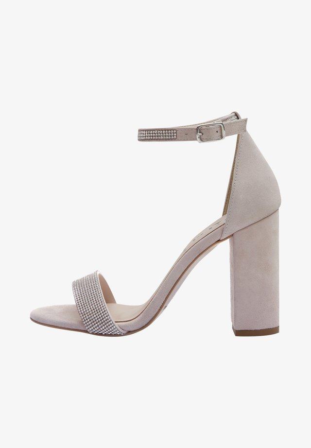AVA - Sandalen met hoge hak - nude