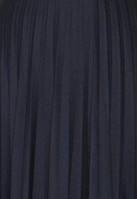 Esprit - PLISEE SKIRT - Pleated skirt - navy - 2