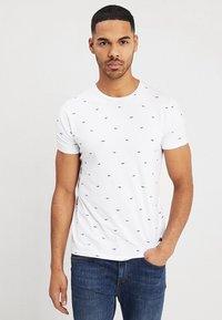 Petrol Industries - Print T-shirt - bright white - 0