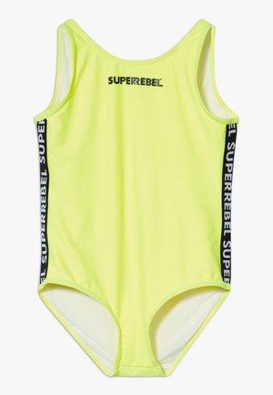 GIRLS BADINGSUIT - Plavky - neon yellow