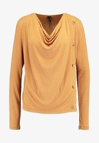 Vero Moda - VMFIRENZEHONIE  - Maglietta a manica lunga - meerkat - 4